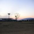 陸上競技場とドーム 2月